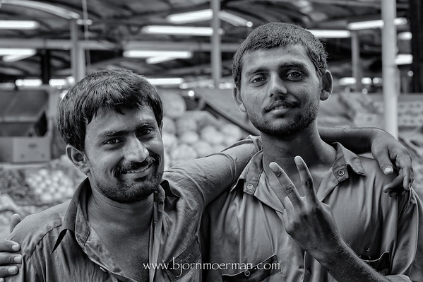 Faces of the Dubai Fishmarket