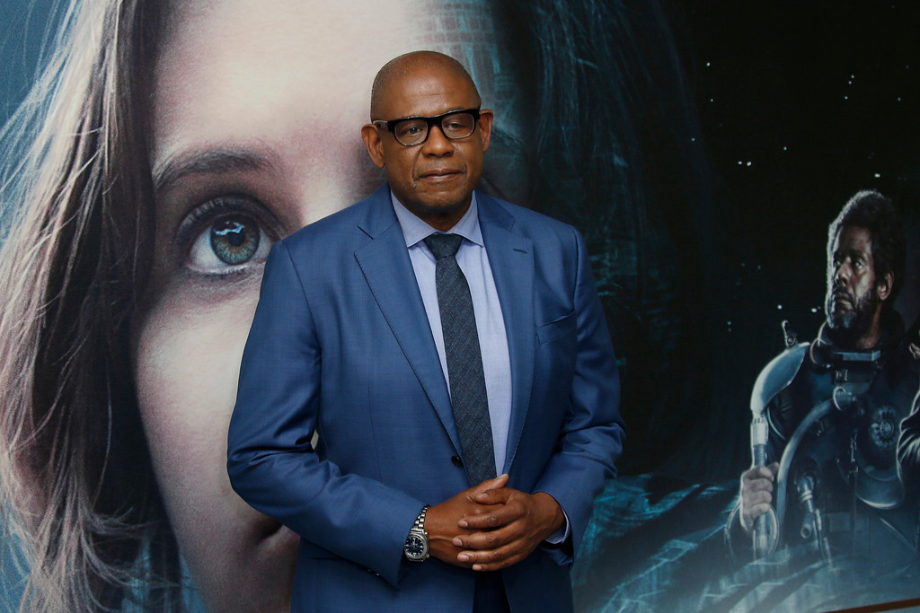 . Actor Forest Whitaker poses for photographers upon arrival at the Rogue One: A Star Wars Story fan screening in London, Tuesday, Dec. 13, 2016. (Photo by Joel Ryan/Invision/AP)