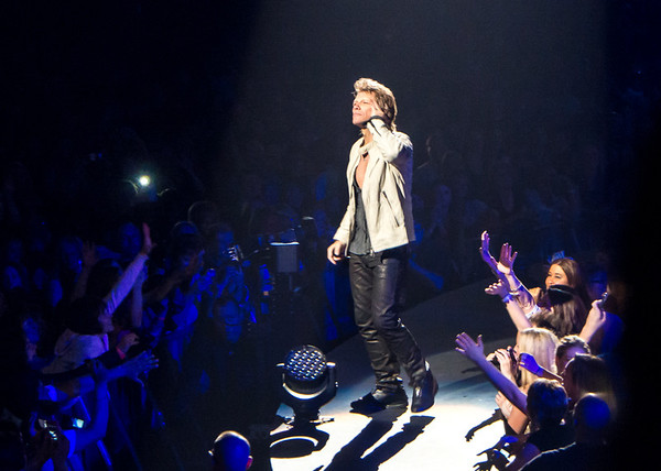 Bon Jovi, CenturyLink Center, Omaha, April 8, 2013