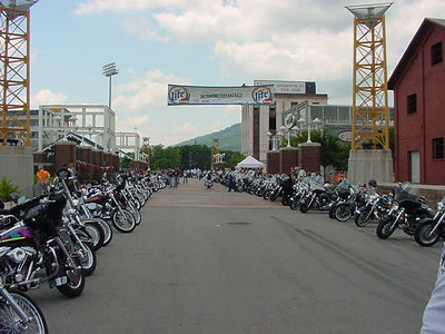 BLAST FROM THE PAST: 2001 National HOG rally