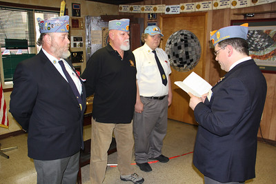 Installation of New 13th District Sons of American Legion, Tamaqua (10-28-2012)