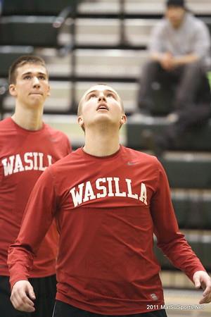 Wasilla Vs. Juneau Boys STATE 3-19-2011