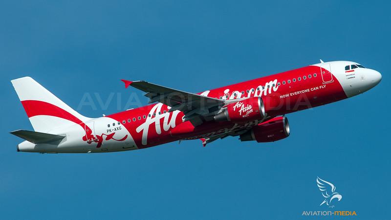 Air Asia Indonesia Airbus A320 PK-AXG
