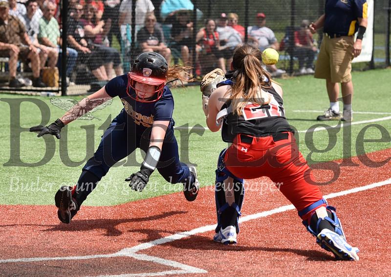 31137 Freeport vs Southmoreland WPIAL 3A girls softball semi-finals at West Mifflin