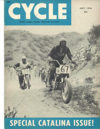1956 July - Cycle Magazine