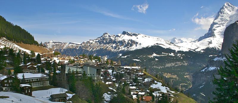 Murren, Switzerland panarama!!!