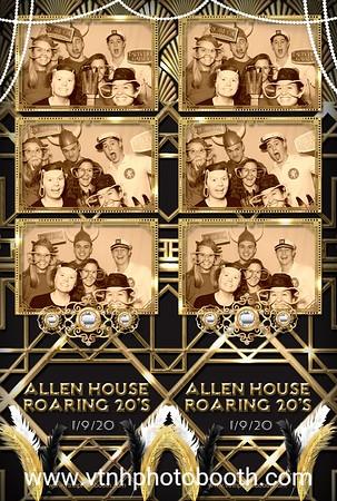 Photo Strips - 1/9/20 - Dartmouth Allen House Community Dinner