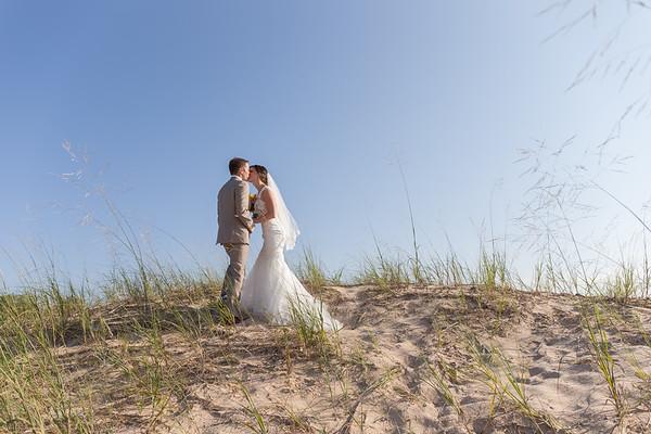 Megan + Drew Petoskey Michigan Perry Hotel Wedding Photography