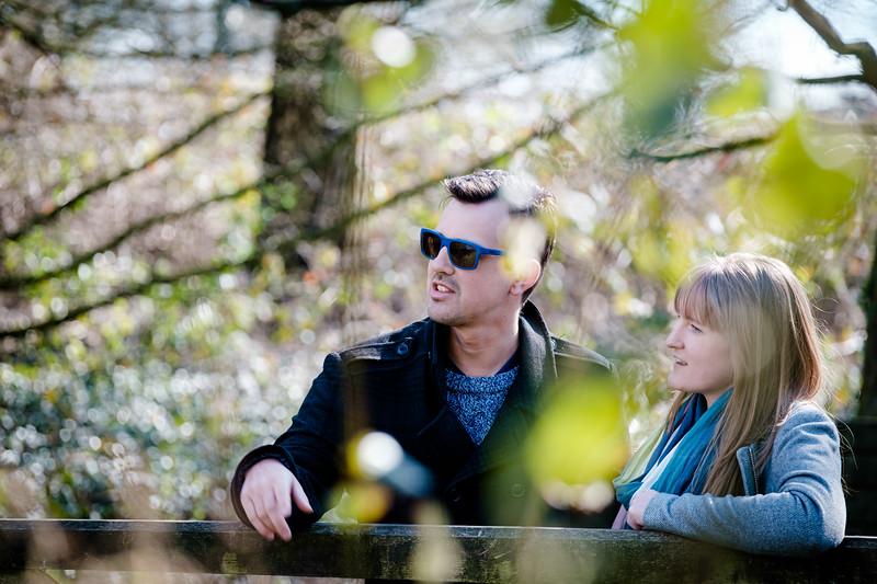 Caroline and Iain