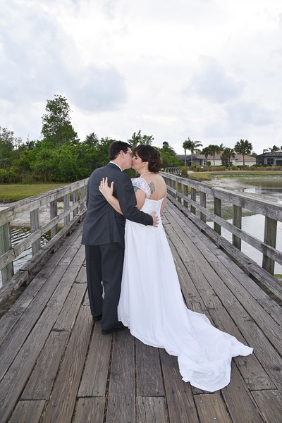 Beautiful wedding at the Renaissance Club-Sun City, FL