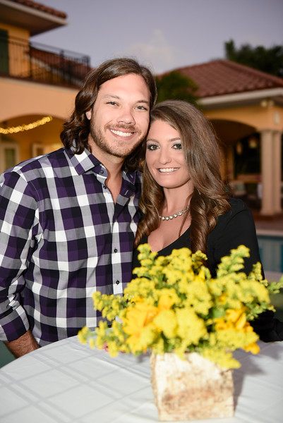 Braden and Jenna Engagement celebrated with family and friends in Florida