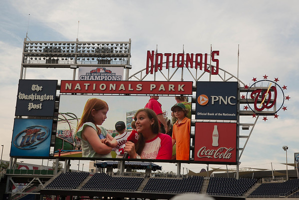 2013 Nats Park Charity Event
