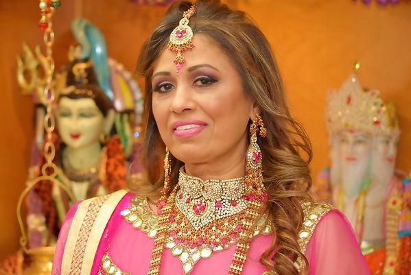 Lena's 60th Birthday Pooja