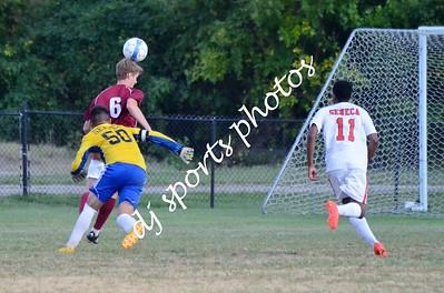 Ballard Varsity Boys Soccer vs Seneca