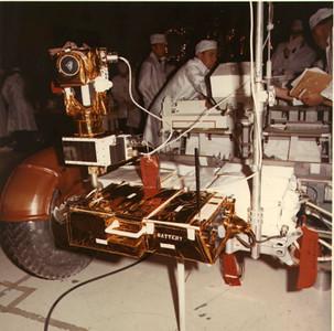 Lunar Rover Details