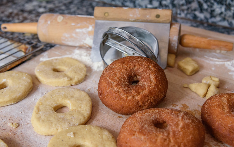 Homemade Buttermilk Donuts