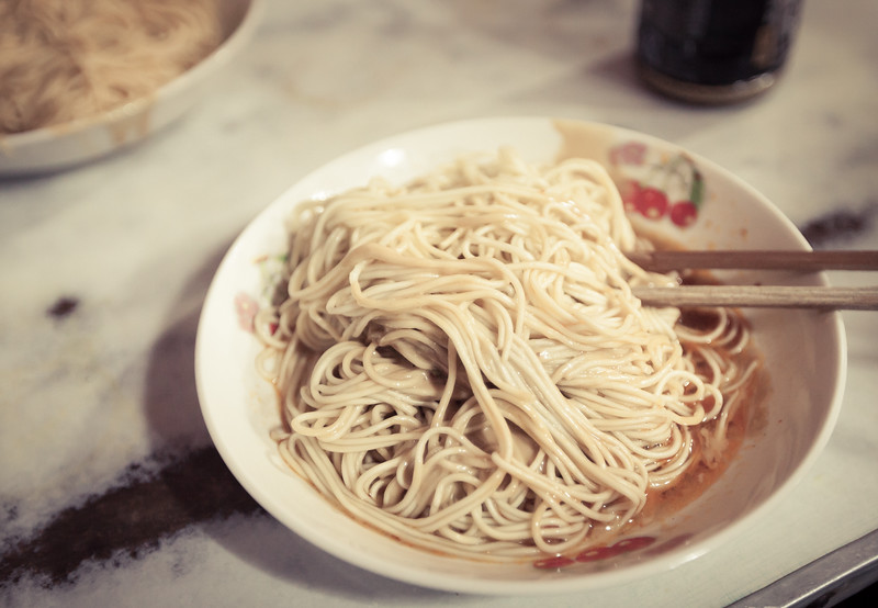 The Best Spicy Peanut Noodles in Shanghai