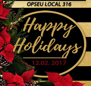 02-12-2017 ~ OPSEU LOCAL 216 Holiday Party