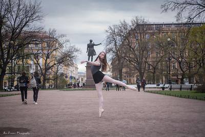 St Petersburg - Bridget  - Mikhailovsky Square