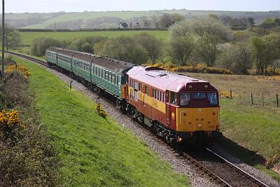 Swanage Railway Diesel Gala, 10th May 2013