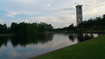 Furman music on the lake