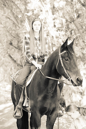Clarissa Chipman Senior _Lake_Horse