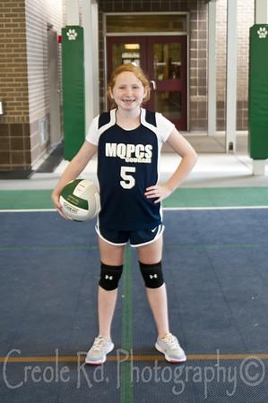 MQPCS Girls Volleyball