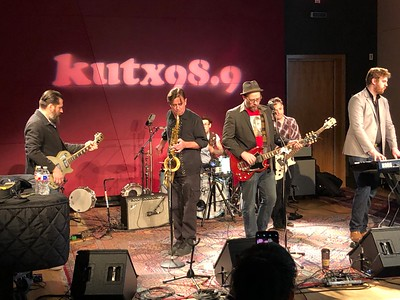 Mr. Lewis at KUTX
