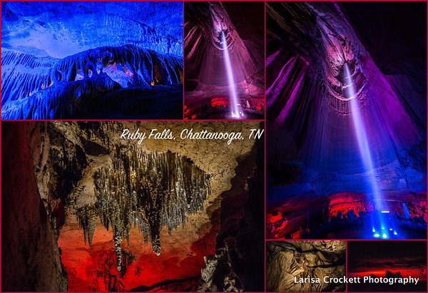 Ruby Falls Caves, Chattanooga, TN
