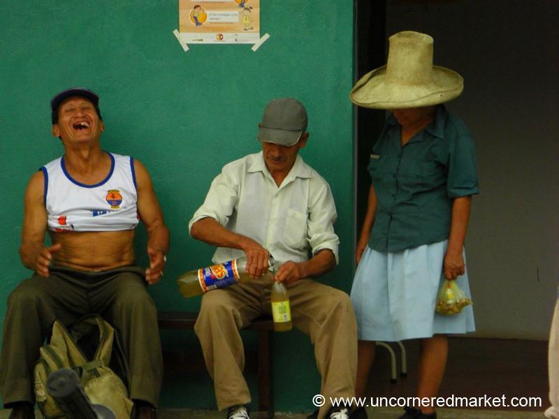 Fun at the Border - La Balsa, Ecuador