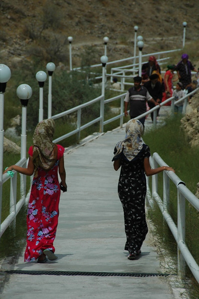 Walking Up to Paraw Bibi, Turkmenistan