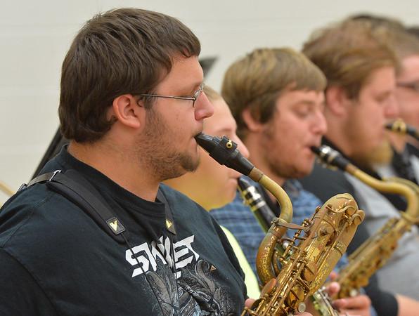Marshall Jazz Band Rehearsal