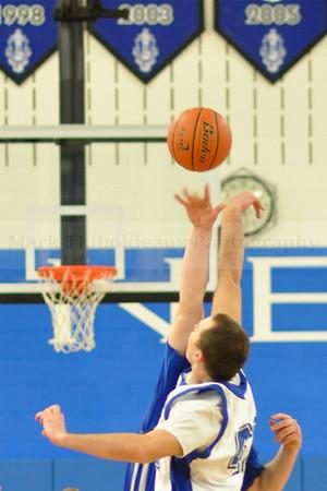 Lampeter-Strasburg Boy's V/JV Basketball v. Garden Spot 2.6.12