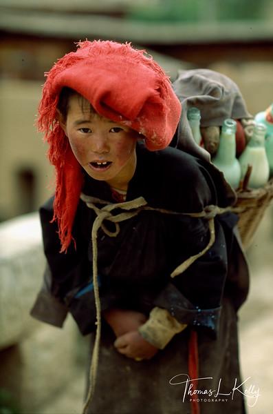 Tibetan Nomad Kid