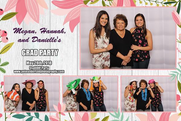 2018 Megan Hannah Danielle Grad Party