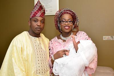 Isabella Adeyanju's Baby Naming Ceremony
