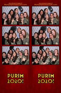3/10/20 - Purim 2020
