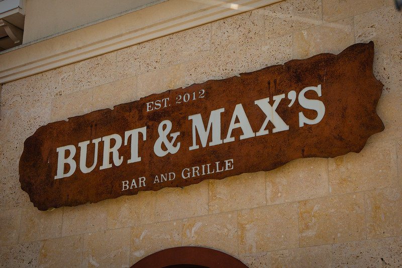 The exterior of Burt & Max's Bar and Grille at the Delray Marketplace in Delray Beach, Wednesday, April 29, 2020. The restaurant will begin to serve take out on Monday, May 4. [JOSEPH FORZANO/palmbeachpost.com]