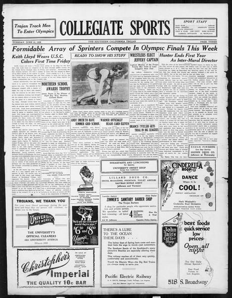 The Southern California Trojan, Vol. 15, No. 96, June 10, 1924