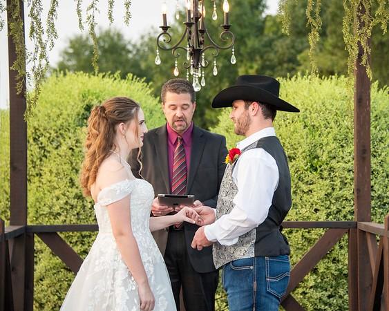 Colton and Kristen wedding