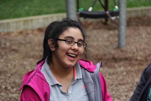 Speccial education picnic at Blackhill Park