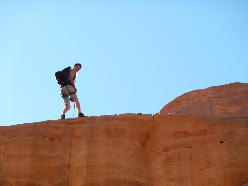 Tierdrop Canyon in Arches National Park, Moab UT
