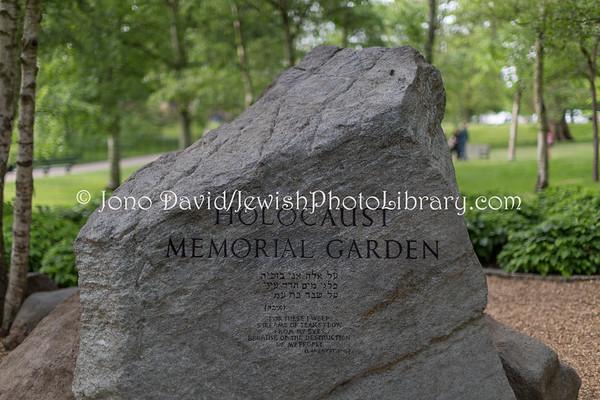 ENGLAND, London. Holocaust Memorial Garden, Hyde Park (5.2018)