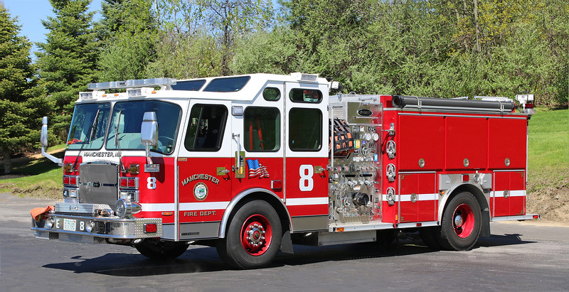 Engine 8.  2016 E-One Typhoon.  2000 / 750