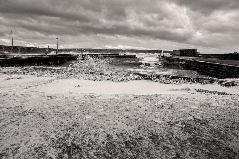 Cullen Harbour, Moray, Scotland.