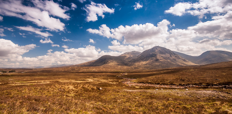 Black Mount on Rannoch Moor