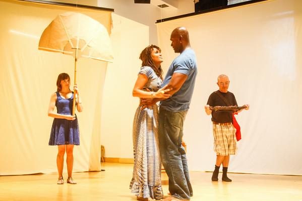 Antony & Cleopatra - In Rehearsal