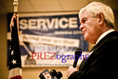 Newt Campaigns With Zaun