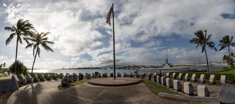 Submarine memorial at Pearl