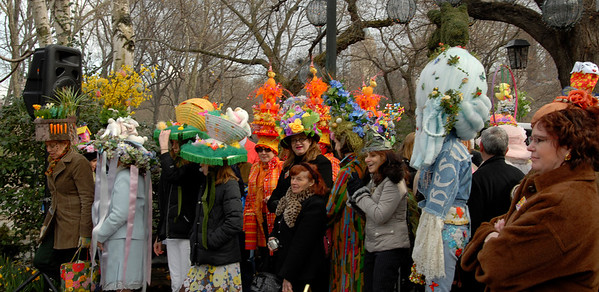 13th Annual Easter Bonnet Contest at Tavern On The Green, Part 2